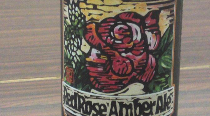 静岡県産地ビール: Baird Beer・ベードビール-Red Rose Amber Ale・レッドローズアンバーエール