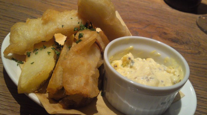 Fish and Chips/フィッシュアンドチップス! BLUE BOOKS café・静岡市!