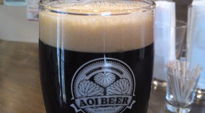 静岡県地ビール:Aoi BrewingのLitbitter Stout/リトビタスタウト