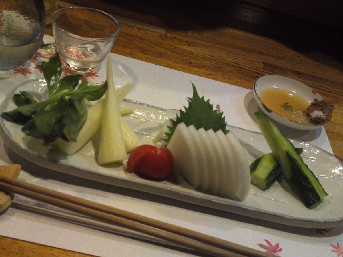 野菜料理居酒屋:野菜刺身・やさい亭・静岡市!