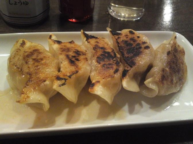 中華料理: AOI BEER STANDのラム餃子、静岡市!
