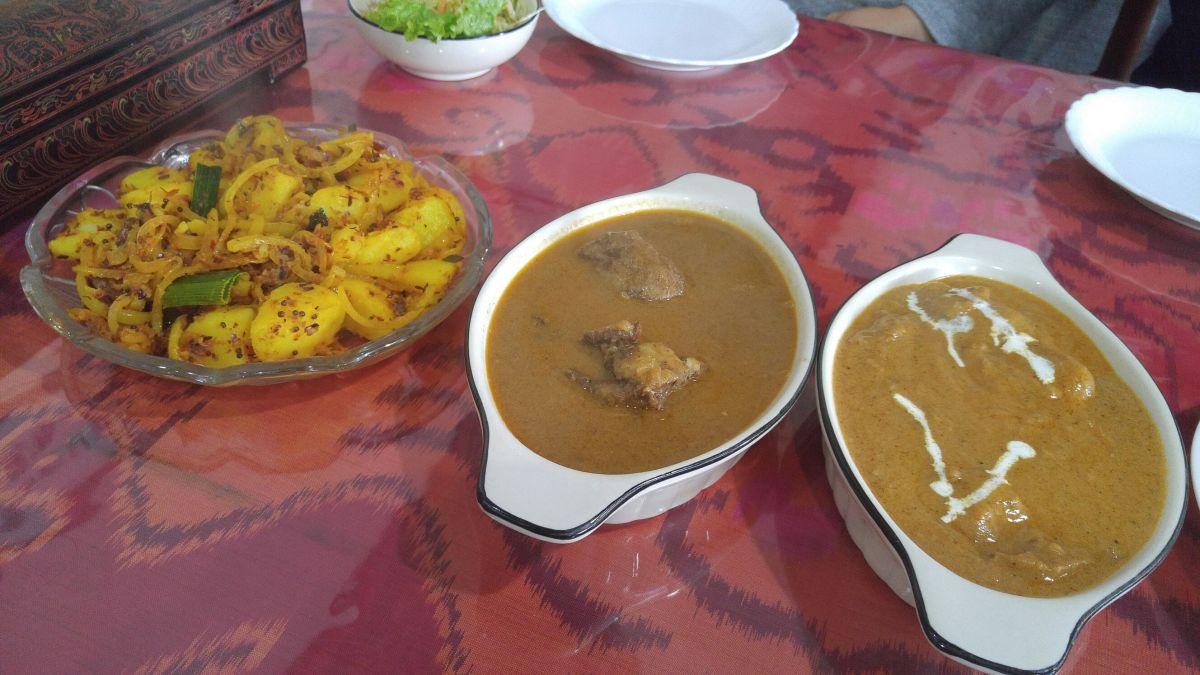 エスニック インドとスリランカ料理:Dahami・ダハミ、静岡市!