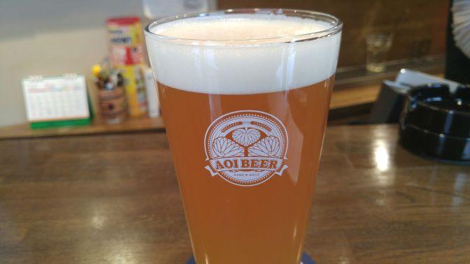 静岡県産地ビール:Aoi Brewing-はるみフルーツ エール(21017年度バージョン)